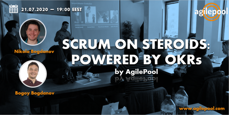 Webinar Scrum on Steroids Poster