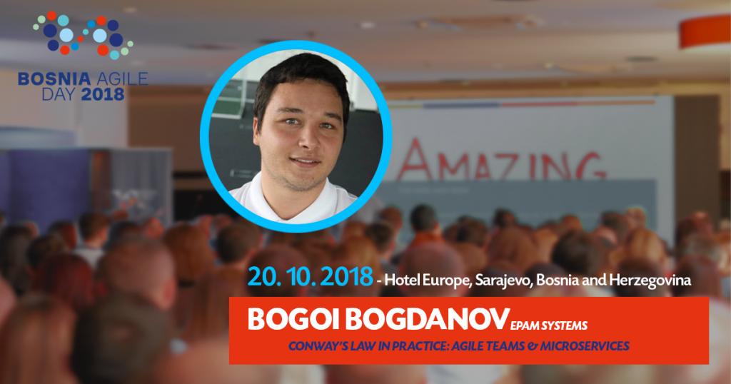 Bosnia Agile Day Agile Teams & Microservices Poster