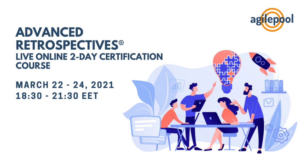 Become certified master of Agile Retrospectives and facilitation