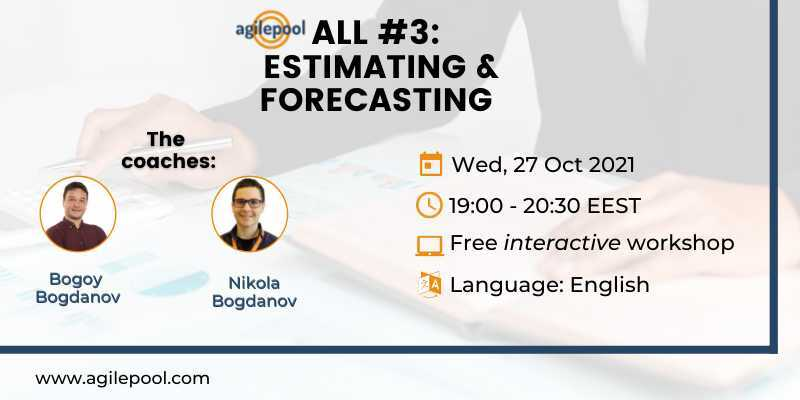 Agile Estimating and Forecasting Techniques Workshop Free