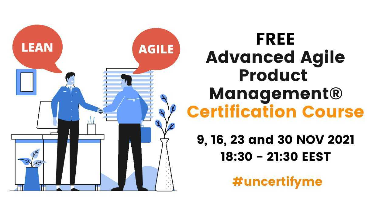 Free agile product management and product ownership certification corse
