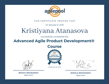 Become Certified Advanced Agile Product Manager